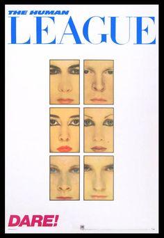 THE HUMAN LEAGUE - DARE, 1981.