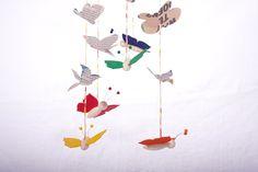 Maak je eigen vlinder mobiel 2 | Duurzaam houten speelgoed