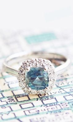 Sapphires in the city. » This is gorgeous...