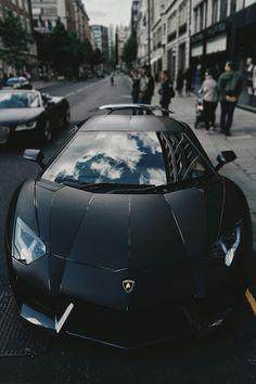 Lamborghini nera