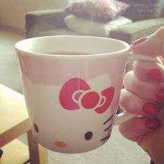 Hello Kitty coffee mug