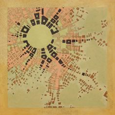 Federico Cortese Codes Imaginary Maps of Nonexistent Cities ............yes. Go look at his Behance pg.