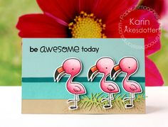 Peppermint Patty's Papercraft: Paper Smooches November Release: Be Awesome Today