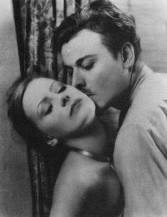 Greta Garbo and Nils Asther in Wild Orchids (1929)