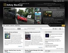 Johny Backup Blogger Template é um template blogger para blog de noticias, tecnologia, jogos e etc. Com layout elegante, Johny Backup tem 3 colunas, 1 sidebar direita, slider de conteúdo em destaque, resumo de postagem leia mais, botões de compartilhament
