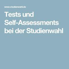 Tests und Self-Assessments bei der Studienwahl