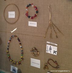 """From the exhibition """" Secrets of ancient Gnezdova """" held in Smolensk"""