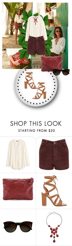 """MEXICO DAY"" by dina-97 ❤ liked on Polyvore featuring H&M, Miss Selfridge, Frye, Gianvito Rossi, Chanel and Sonoma life + style"