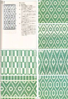 annadrianna — «Pattern Library for Punch Card Knitters №1 1973» на Яндекс.Фотках