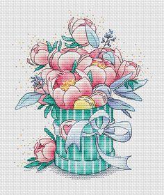 Вышивка крестом. Схемы и наборы от L`ka. Free Cross Stitch Charts, Cross Stitch Cards, Cross Stitch Rose, Cross Stitch Flowers, Cross Stitch Kits, Cross Stitching, Modern Cross Stitch Patterns, Counted Cross Stitch Patterns, Cross Stitch Designs