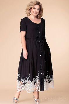 Mature Women Fashion, Curvy Girl Fashion, Plus Size Fashion, Plus Size Work Dresses, Plus Size Outfits, Modest Dresses, Casual Dresses, Fashion Dresses, I Dress