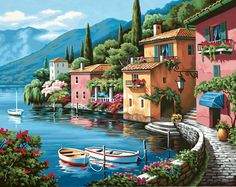 Lakeside Village - beautiful to say the least!