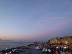"""Dalla Finestra di Camera, """"Grand Hotel Santa Lucia"""", Napoli Italia (Maggio)"""