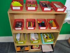 Enhancing your EYFS Mark making area Eyfs Classroom, Classroom Setup, Year 1 Classroom Layout, Classroom Displays Eyfs, Reception Classroom Ideas, Eyfs Activities, Nursery Activities, Indoor Activities, Creative Area Eyfs