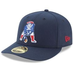 New Era New England Patriots Team Basic Low Profile 59FIFTY Fitted Cap  ( 35) ❤ liked on Polyvore featuring men s fashion 28e1bfa3fd2f
