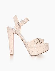 Starry Platform Sandals