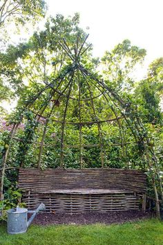 30+ Garden Projects using Sticks & Twigs = this is beautiful!