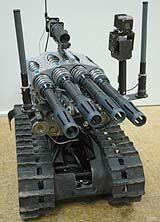 METAL STORM Machine Gun