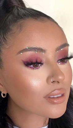 Purple Eye Makeup, Makeup Eye Looks, Eye Makeup Art, Glam Makeup, Pretty Makeup, Makeup Inspo, Makeup Inspiration, 80s Makeup, Makeup Ideas