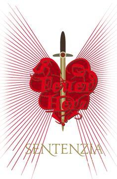 Sentenzia: Feuerherz & Flügelschwert. Wort- und Designkunst von Eva-Christiane Wetterer und Anja-Dorothee Schacht. Erschienen im Königsfurt-Urania-Verlag 2010