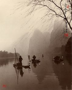 Lanterns Light the Way, Guilin, 1998. Photograph by Don Hong-Oai