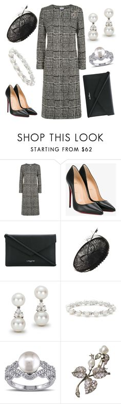 """""""Laying Memorial Wreath"""" by nmccullough ❤ liked on Polyvore featuring Christian Louboutin, Lancaster, Tiffany & Co. and Miadora"""