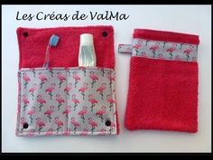 Tuto Couture Range Case Nomad toothbrush for patterned fabrics / place -. Sewing Tutorials, Sewing Projects, Peony Care, Retreat Gifts, Sewing Online, Diy Sac, Couture Sewing, Pouch, Wallet