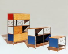 Eames Storage Unit by Ray & Charles Eames
