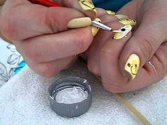 melhores unhas decoradas com girassol
