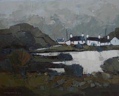 Wilf Roberts - Y Llyn, The Lake, Bodafon