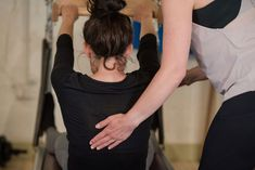 At the Pilates Studio Edinburgh we are all about lengthening the whole fascia (the fibrous tissue around the muscles) of the backline of the body; because remember- if there is no length in the spine, there will be no proper engagement of the abs. There can't be. There just isn't space. It is the lengthening of this fascia that will lengthen the spine and create space for the the lower back to open and grow, creating space for the abdominals to lift and strengthen into our back effectively.