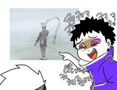 Damn lol . . . Obito, Kakashi, gif