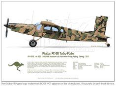 Pilatus PC-6 A14-652 VH-OWB Camo 2012 - Click Image to Close
