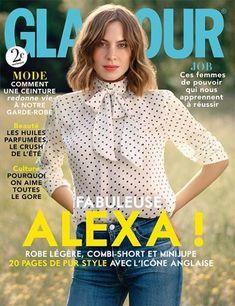 Alexa Chung - Glamour Magazine Cover [France] (September 2015)