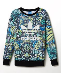 Another great find on #zulily! adidas Blue Butterfly Pullover by adidas #zulilyfinds