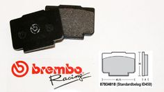 Brembo Racing-Brake Pads Standard, rear, 07934010