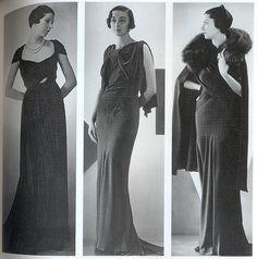 1930s dresses by Gatochy