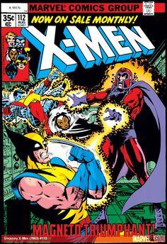 Uncanny X-Men 112 Marvel 1978 NM Wolverine Phoenix Colossus Storm Magneto Marvel Comics, Hq Marvel, Marvel Comic Books, Comic Book Characters, Comic Books Art, Comic Art, Book Art, Spiderman Marvel, Star Comics
