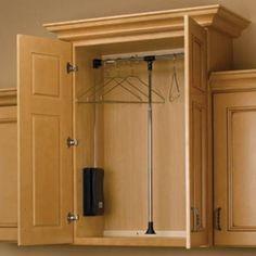 Beautiful Retractable Closet Rod