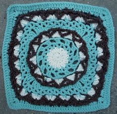 "Ravelry: Project Gallery for Anticipation Mystery Afghan 12"" block pattern by Margaret MacInnis"
