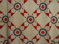 Quilts In The Barn: 1860's Antique quilt.
