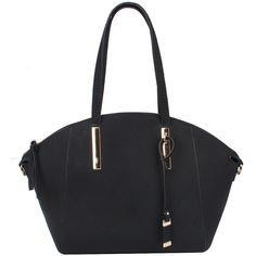 Sassysac Dome Shape Tote, Black ($36) via Polyvore featuring bags, handbags and tote bags