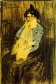 * Lola Picasso (soeur de l'artiste) 1899 - Picasso