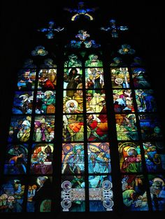 Mucha, St Vitus Cathedral, Prague