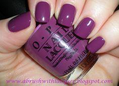 opi pamplona purple | A Brush with Lacquer: OPI Pamplona Purple