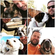 My husband takes selfies with every dog he meets III     Zoom     ANIMALS  dog, husband, III, meets, selfies, takes  https://putmelike.com/my-husband-takes-selfies-with-every-dog-he-meets-iii/