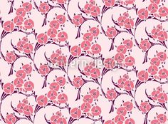 La Vie En Rose created by Irina Arnautu offered as a vector file on patterndesigns.com