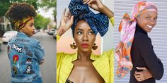 Les reines du headwrap African Head Wraps, Facon, How To Wear, Fantasy, Clothes, Headscarves, Hair, Queens, Outfits