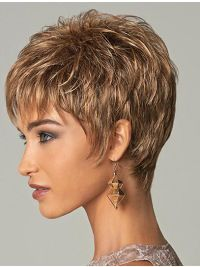 Hairstyles Brown Straight Cropped Wigs Hairstyles Brown Straight Cropped Men Wigs, Mens Punk Wigs Related Cute Short Pixie Haircuts 2019 - Page 17 of 36 - Lead HairstylesBest Short Hairstyles Short Hair With Layers, Short Hair Cuts For Women, Short Hairstyles For Women, Straight Hairstyles, Short Cuts, Fine Hair Styles For Women, Short Pixie Haircuts, Pixie Hairstyles, Braided Hairstyles