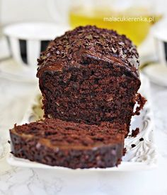 Banana Recipes, Cake Recipes, Dessert Recipes, Polish Recipes, Food Cakes, Food Allergies, Mini Cakes, Healthy Baking, Christmas Desserts